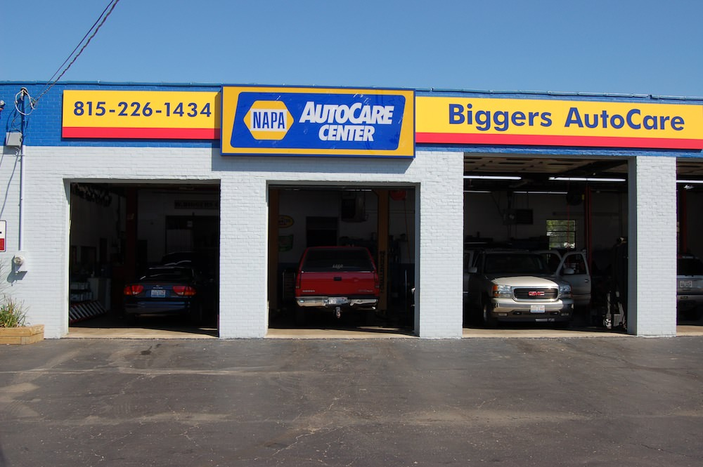 Changed the name to Biggers Autocare Incorporated.