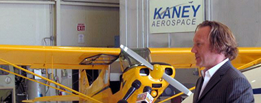 Jeff Kaney, CEO of Kaney Aerospace